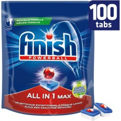 Finish All-in-1 Max Grease Fighter Vaatwastabletten 100 stuks